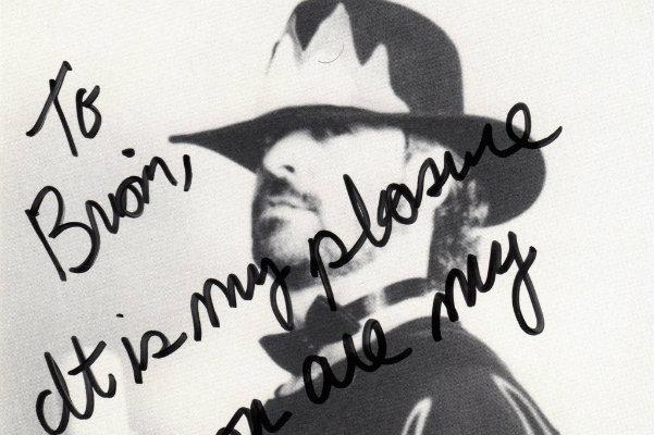 Vicious Vincent's autographed photo for Brian