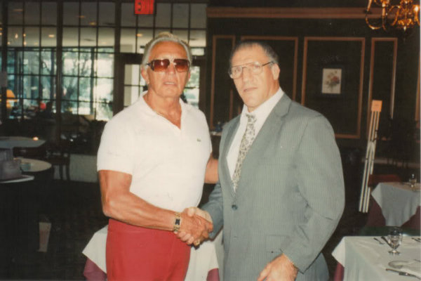 Buddy Rogers & Bruno Sammartino at the 1991 Weekend of Champions